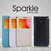 OPPO Find 7, 7a - เคสฝาพับ Nillkin Sparkle leather case แท้