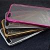 iPhone 6 Plus / 6s Plus - เคสใส ขอบสีเมทัลลิก TPU Leiers แท้