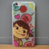 เคสใส TPU Poko-Chan วาว - iPhone 6, 6s