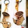 พวงกุญแจ handmade แนวๆ :Yoga!