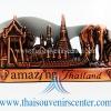 ของพรีเมี่ยม ของที่ระลึกไทย ที่วางนามบัตร แบบที่ 45 สีทองแดง