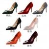 รองเท้าส้นสูง ไซต์ 34-39 สีเขียว สีเทา สีแดง สีดำ สีส้ม สีชมพู สีแดงเลือดหมู