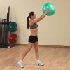 ลูกบอลโยคะ ป้องกันการระเบิด (Fitness Ball) ขนาด 45cm สีเขียว