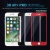 iPhone 8 / 7 (เต็มจอ/ขอบนิ่ม) - กระจกนิรภัย 3D AP+ PRO 0.23mm Nillkin แท้