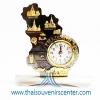 ของพรีเมี่ยม ของที่ระลึกไทย นาฬิกา แบบ 29 สีดำผสมทอง