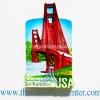 ของที่ระลึก magnets แบบ 79 สะพานโกลเดนเกต เมืองซานฟรานซิสโก รัฐแคลิฟอร์เนีย สหรัฐอเมริกา