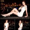 Sexy Dress 17 สีขาว