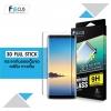 Samsung Note8 - FOCUS 3D Full Stick กระจกกันรอย ลงโค้งฟูลสติ๊ก แท้