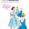 แพทเทิร์นตัดเดรสแนวเรโทร สตรี Butterick B5748 Size: 6-8-10-12-14 (อก 30.5-36 นิ้ว)