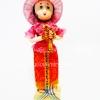ของขวัญที่ระลึก ตุ๊กตาชุดไทย 4 ภาค แบบยืน 1 เด็กสวัสดี