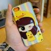 iPhone 5, 5S, SE - เคส Face Idea ลายหญิงเป็ดขวา