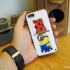 iPhone 5, 5S, SE - เคส Face Idea ลาย Minion ตาเดียวยิ้มมุมปาก