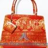 ของขวัญให้ผู้ใหญ่ กระเป๋าถือ size L แบบ 10 สีแดง