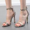 รองเท้าส้นสูงลายหนังงู ไซต์ 35-40