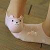 ถุงเท้าเด็กลายจุดมีหูน่ารัก ขนาด 20-22 ซม. (3 คู่ 120 บาท)