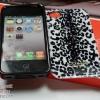 COACH CASE (ลายเสือขาวดำ) - iPhone 4, 4s