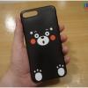 iPhone 8 Plus / 7 Plus - เคส TPU ลาย เจ้าหมีคุมะมง (Kumamon)
