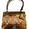 ของขวัญให้ผู้ใหญ่ กระเป๋าถือ size M แบบ 26 สีทองชมพู