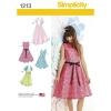 แพทเทิร์นตัดเสื้อผ้าวัยรุ่นหญิง ยี่ห้อ Simplicity (1213) ไซส์ 8-10-12-14-16