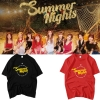 เสื้อยืด TWICE Summer Nights Logo -ระบุสี/ไซต์-