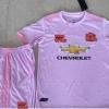 ชุดบอลเด็กแมนเชสเตอร์ ยูไนเต็ด สีชมพู