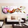 ภาพกรอบลอย ปลาคราฟบัวชมพู ArtHome222