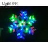 ไฟเกร็ดหิมะ 40 cm.(RGB) cl-004