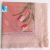"""#318 22"""" JUNKO KOSHINO ผ้าเช็ดหน้ามือ2 สภาพดี ผ้าเช็ดหน้าผืนใหญ่"""