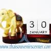 สินค้าพรีเมี่ยม ช้างทรงเครื่องกับปฏิทิน แบบที่ 33