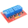 Relay 4 Channel 5V relay isolation control Active High Relay Module Shield 250V/10A