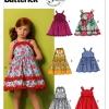 แพทเทิร์นตัดชุดเดรสเด็กหญิง Butterick 5914 Size: 2-3-4-5