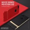 iPhone 8 Plus - ROCK Royce Series case เคสกันกระแทก ดีไซน์เท่ห์ๆ แท้