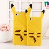 iPhone 6 Plus, 6s Plus - เคสซิลิโคน Pikachu หูตั้ง (Pokemon)