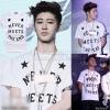 เสื้อยืด B.I iKON NEVER MEETS THE END-ระบุไซต์/สี-
