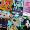 Pastel Case หลายลาย - iPhone 4, 4s