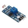 โมดูลใช้ในการตรวจจับความสว่างและความเข้มของแสง Photosensitive brightness resistance sensor module Light intensaty detect