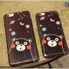 iPhone 6 Plus, 6s Plus - เคสยาง TPU ลาย Kumamon Galaxy