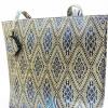 ของขวัญให้ผู้ใหญ่ กระเป๋าถือ size XXL แบบ 88 สีน้ำเงิน