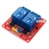 บอร์ด Relay 2 ช่อง 5V แบบ Active High10A 250V สำหรับ Arduino และ Microcontroller Active High