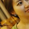 ต่างหูสไตล์เกาหลี รูปมงกุฎเพชร
