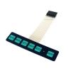Keypad 6 Key พร้อม LED Membrane matrix Switch Keypad with LED