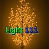 ไฟต้นไม้ ซากุระ1.8 m 672 led สีเหลือง