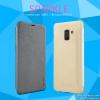 Samsung A8 2018 - เคสฝาพับ Nillkin Sparkle leather case แท้