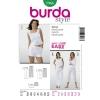 แพทเทิร์นตัดกางเกงขายาว ขาสั้น ยี่ห้อ Burda Style (7966) ไซส์: 12-14-16-18-20-22-24