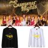 เสื้อแขนยาว TWICE Summer Nights Logo -ระบุสี/ไซต์-