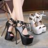 รองเท้าส้นสูง ไซต์ 35-40 สีดำ สีขาว