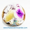 ชุดสปาในกะลามะพร้าว Aroma Gift Set M แบบ 7 สีม่วง