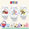 นาฬิกาข้อมือ BTS BT21 Cartoon -ระบุลาย-