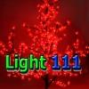 ไฟต้นไม้ ซากุระ 1.5 m 480 led สีแดง