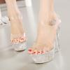 รองเท้าส้นแก้ว ไซต์ 35-43